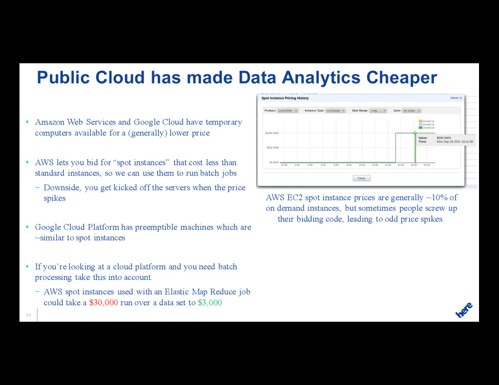 36 • Amazon Web Services and Google Cloud have ...