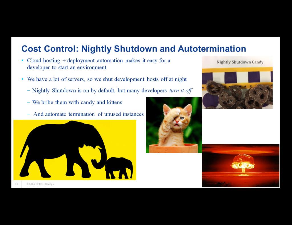 39 Cost Control: Nightly Shutdown and Autotermi...