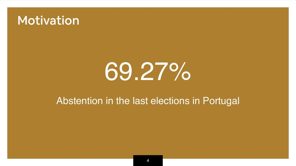 69.27% Abstention in the last elections in Port...