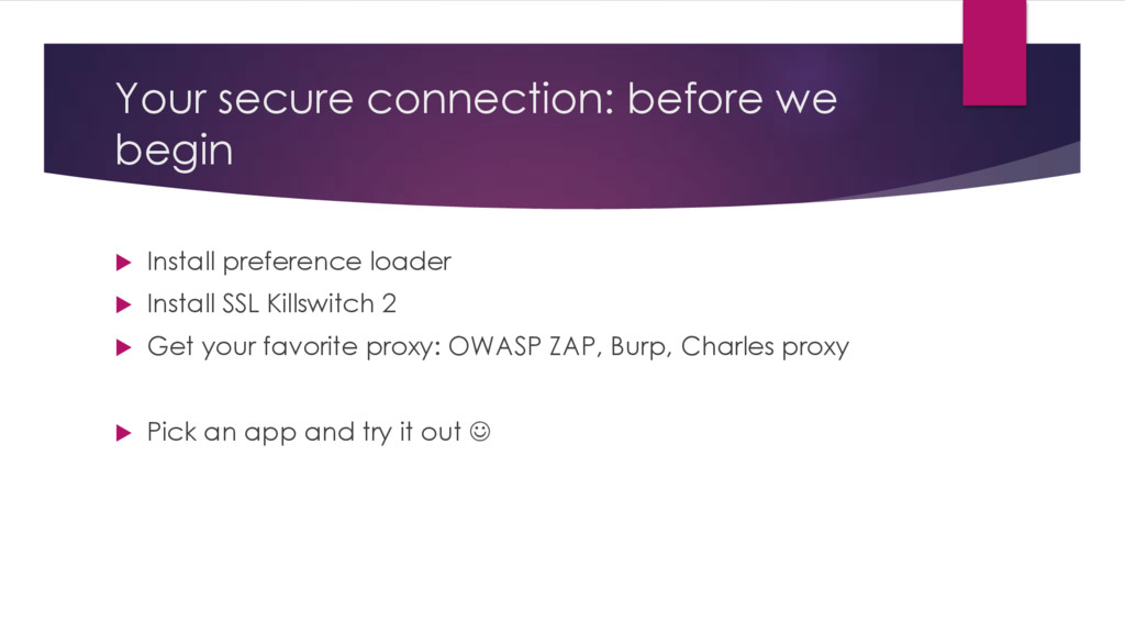 Your secure connection: before we begin u Insta...