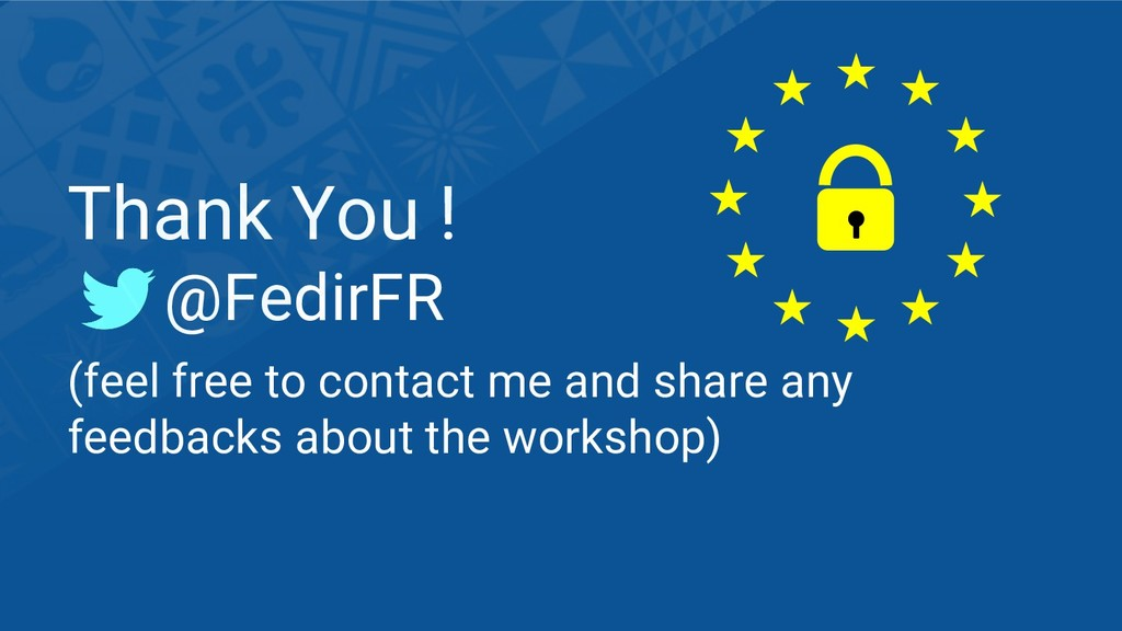 Thank You ! @FedirFR (feel free to contact me a...