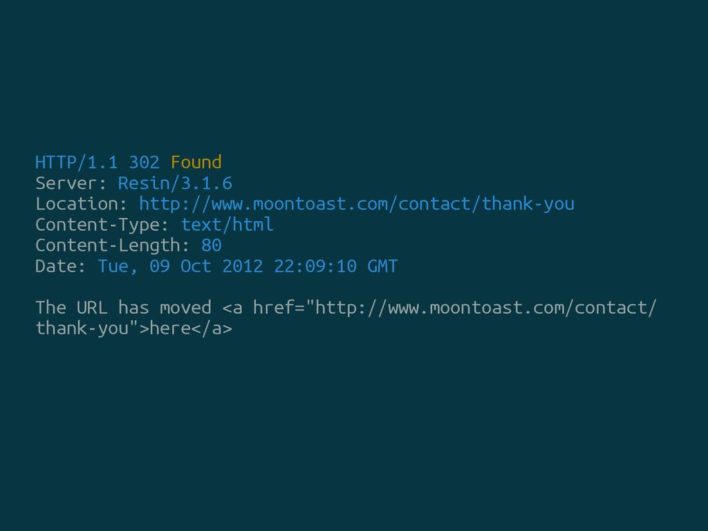 HTTP/1.1 302 Found Server: Resin/3.1.6 Location...
