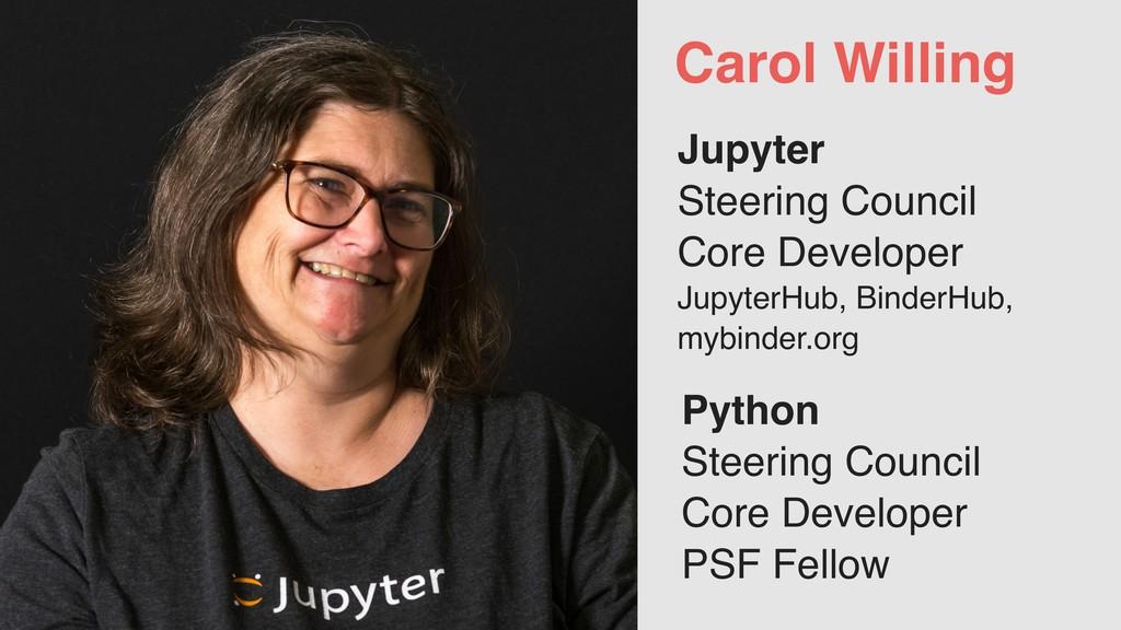 Jupyter Steering Council Core Developer Jupyter...