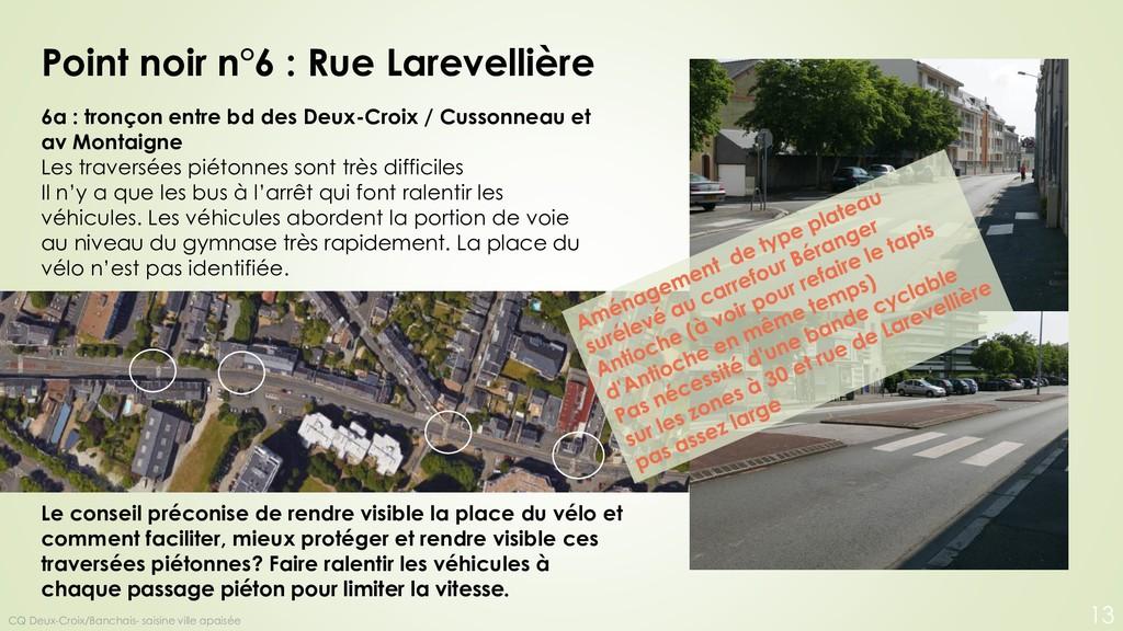 6a : tronçon entre bd des Deux-Croix / Cussonne...