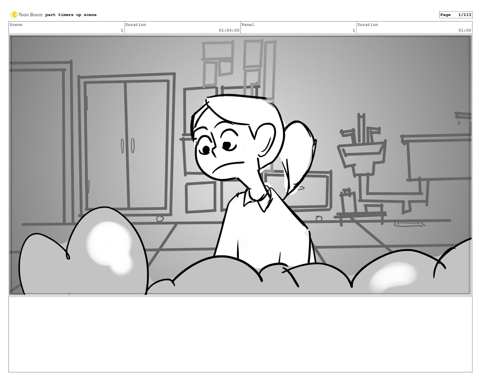 part timers op scene