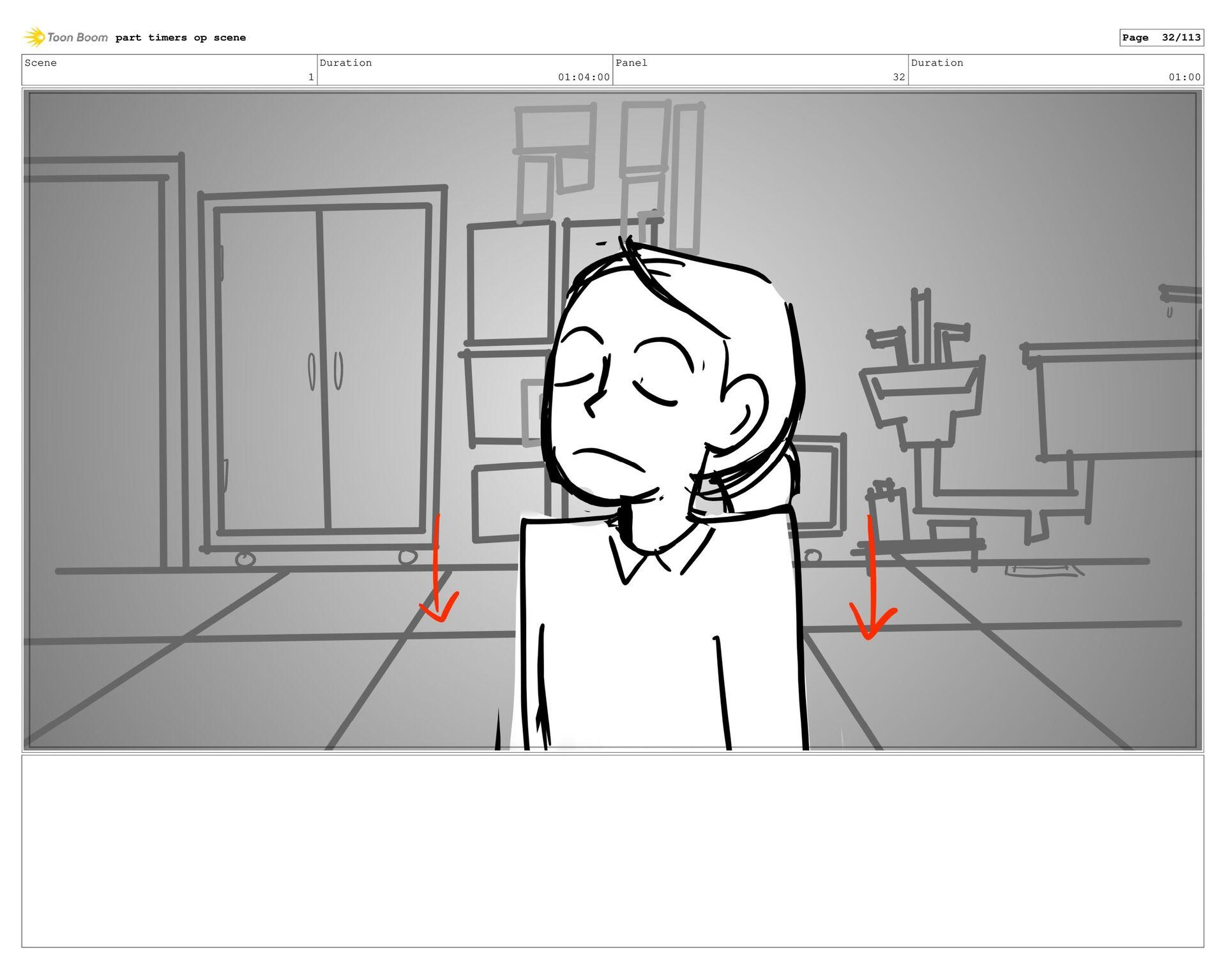 Scene 2 Duration 05:00 Panel 5 Duration 01:00 p...