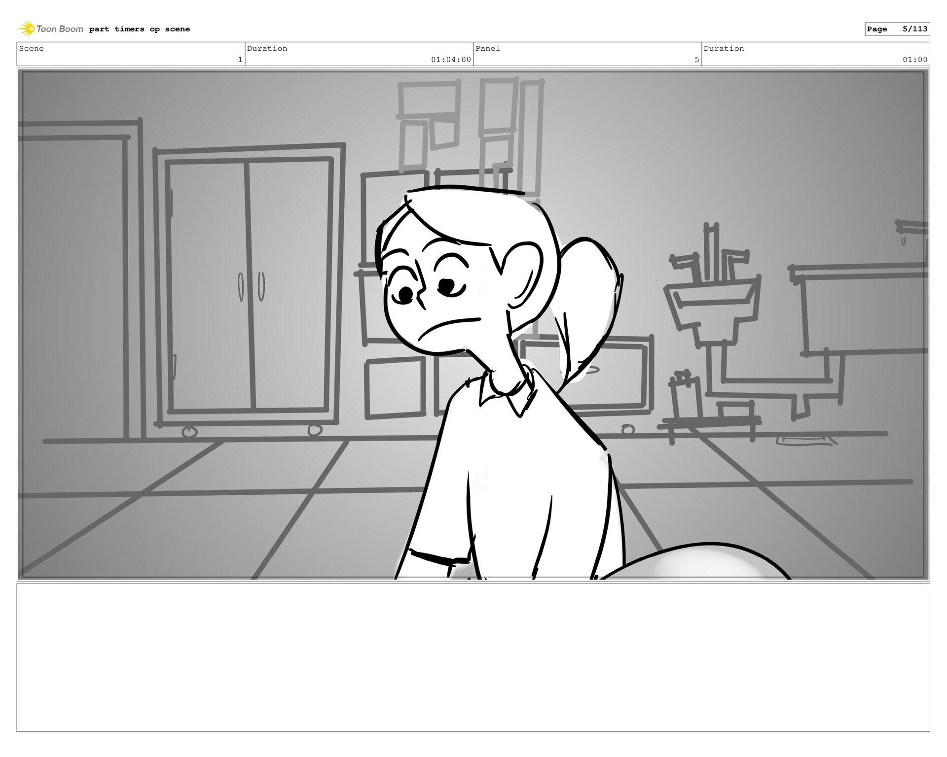 Scene 1 Duration 26:00 Panel 4 Duration 01:00 D...
