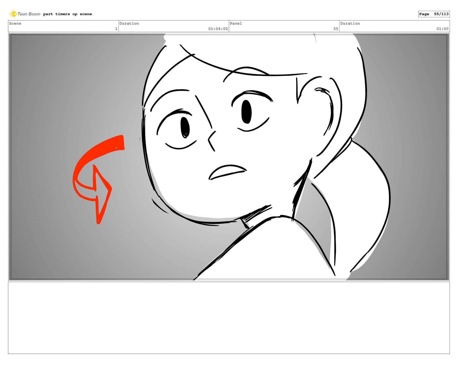 Scene 3 Duration 44:00 Panel 23 Duration 01:00 ...