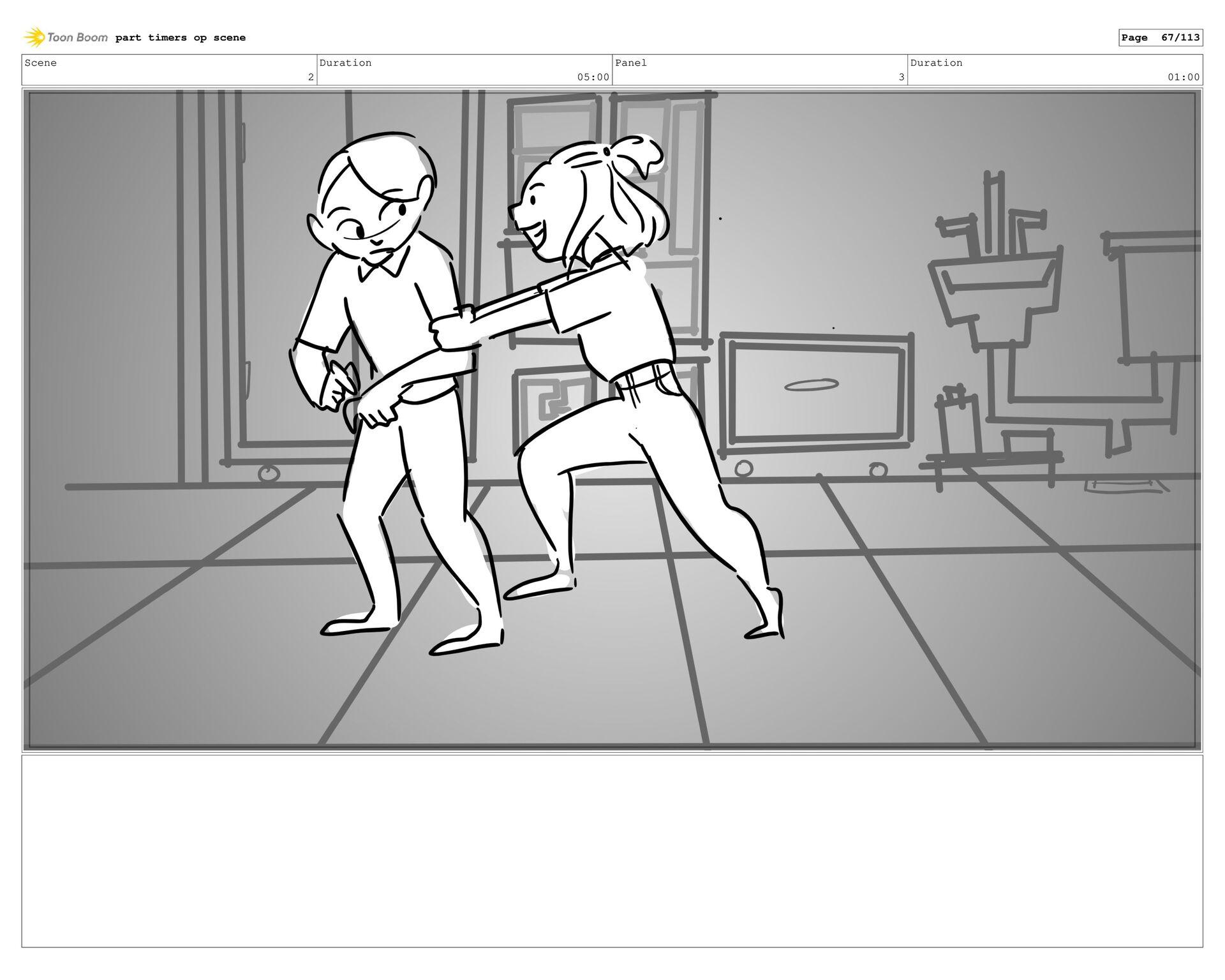 Scene 3 Duration 44:00 Panel 35 Duration 01:00 ...