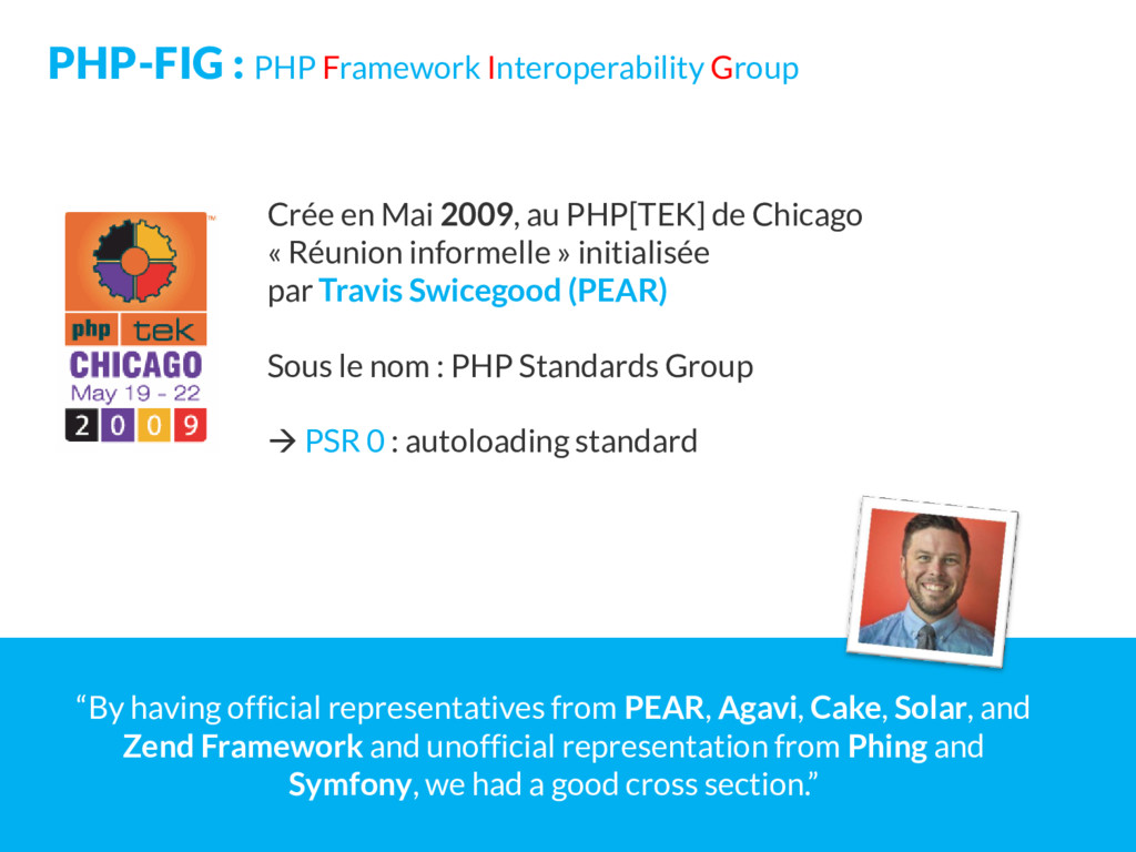 PHP-FIG : PHP Framework Interoperability Group ...