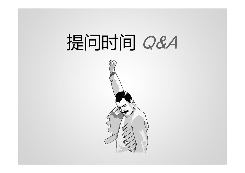 提问时间 Q&A