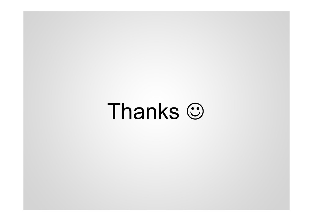 Thanks ☺