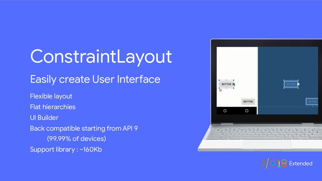 ConstraintLayout Easily create User Interface F...