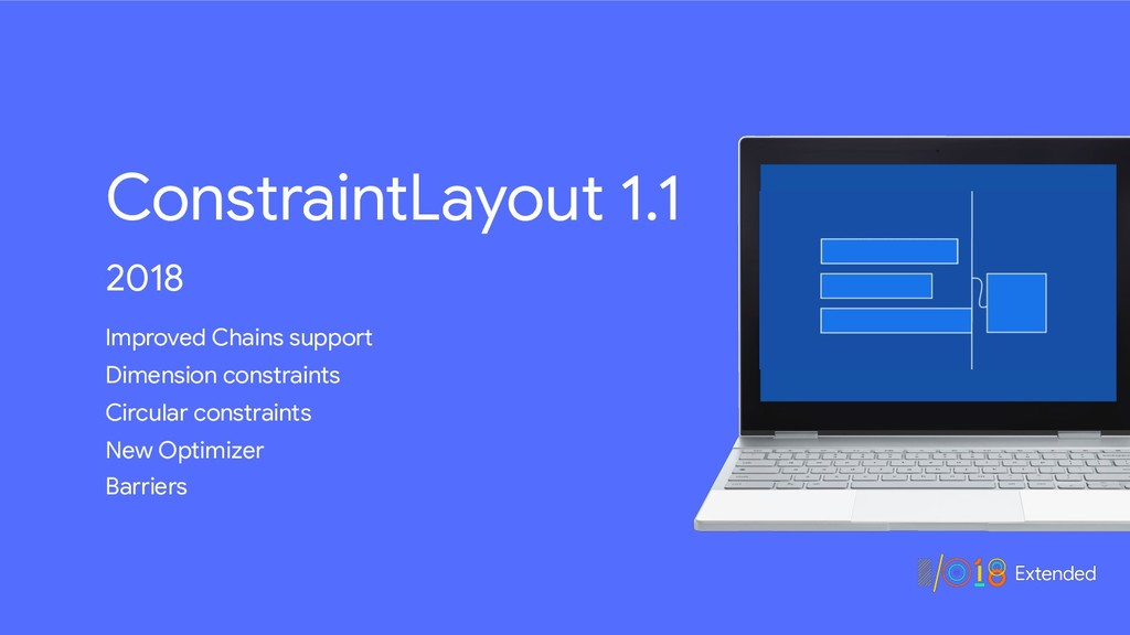 ConstraintLayout 1.1 2018 Improved Chains suppo...