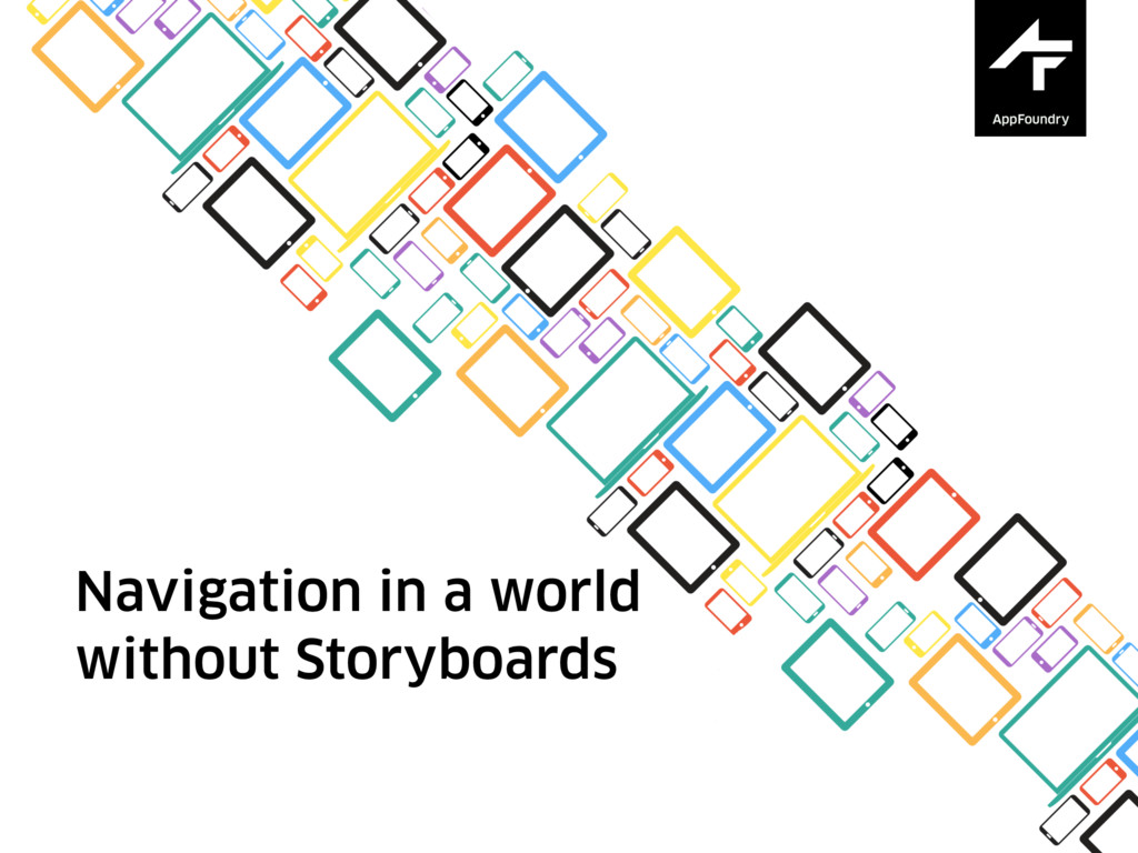 Navigation in a world without Storyboards