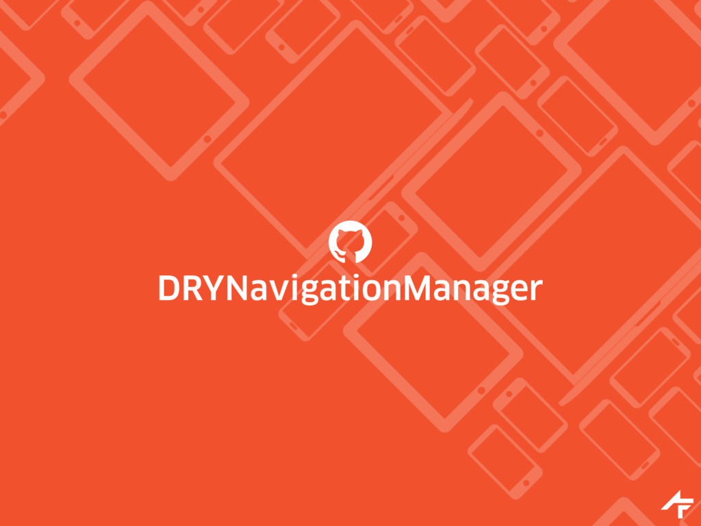 DRYNavigationManager