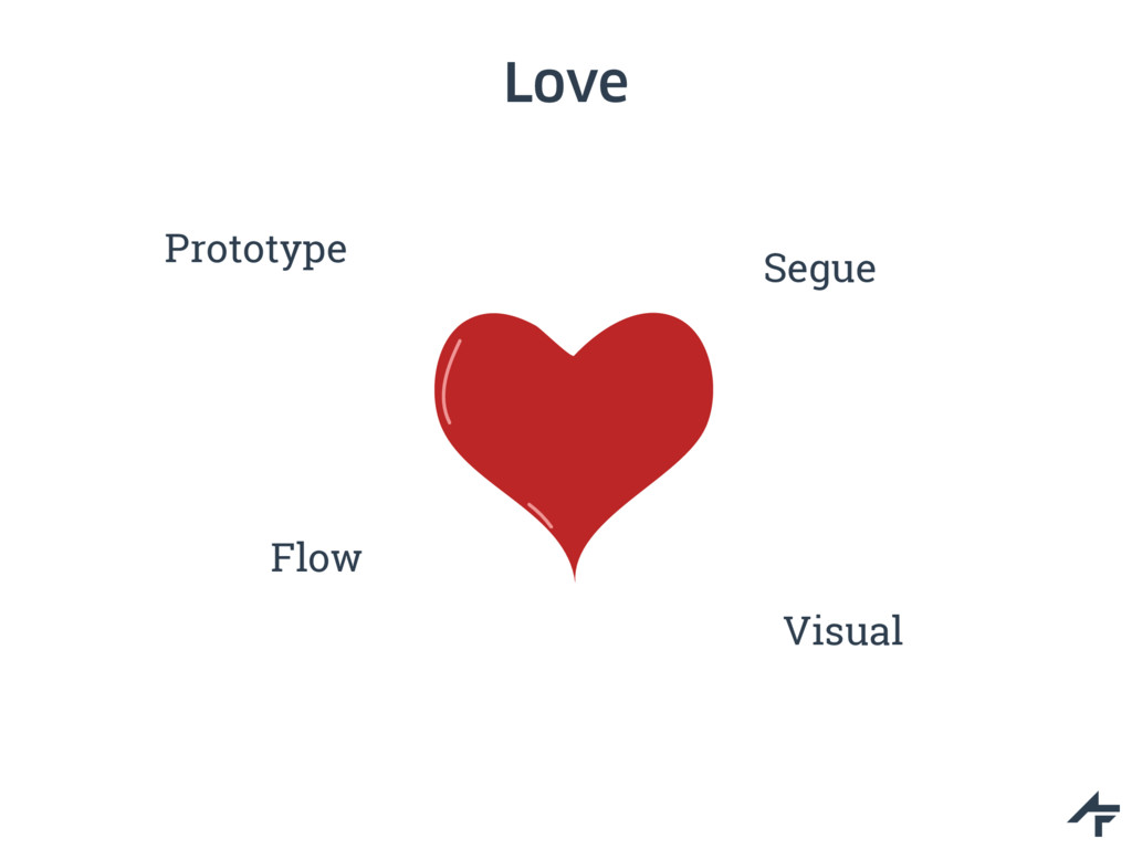 Love Segue Flow Visual Prototype