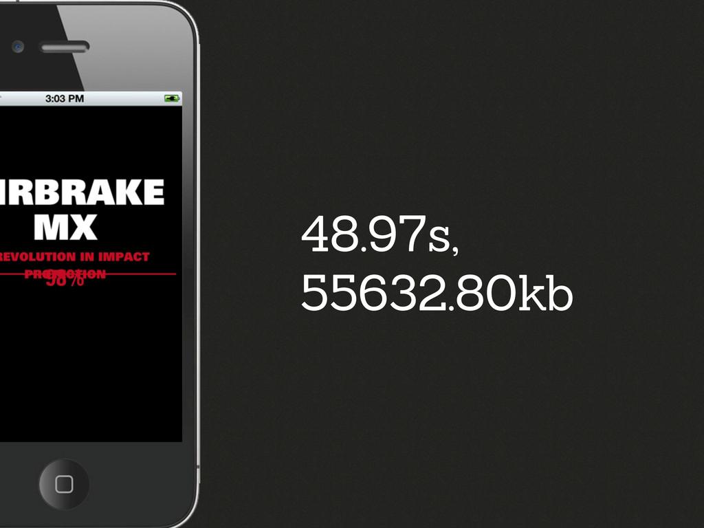 48.97s, 55632.80kb