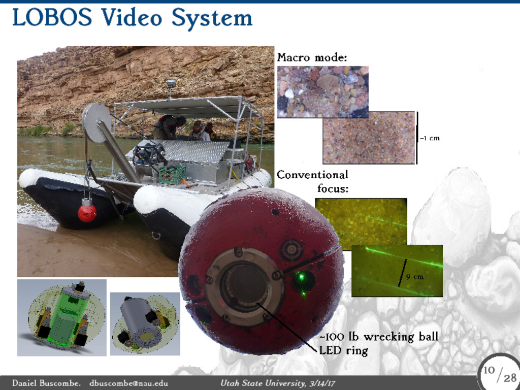 LOBOS Video System Daniel Buscombe. dbuscombe@n...