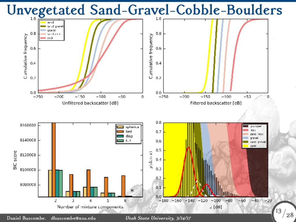Unvegetated Sand-Gravel-Cobble-Boulders Daniel ...