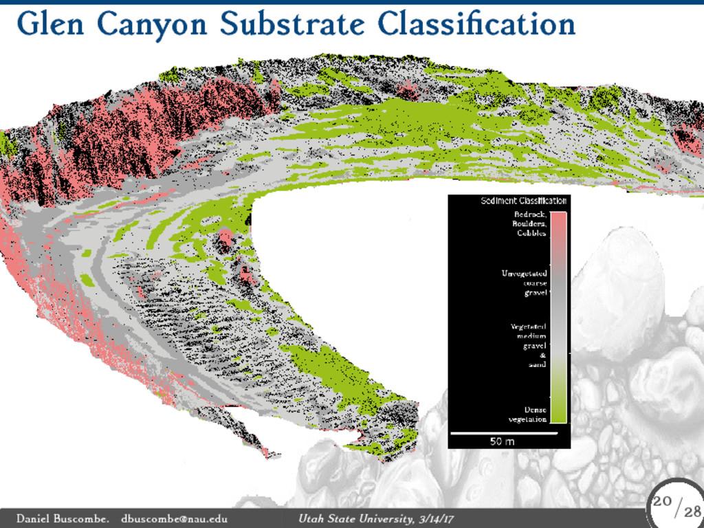 Glen Canyon Substrate Classification Daniel Bus...