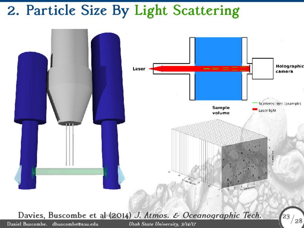 2. Particle Size By Light Scattering Davies, Bu...