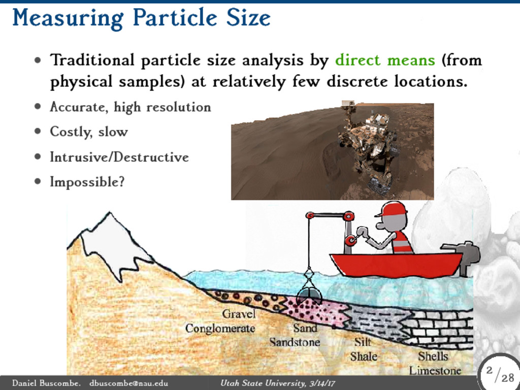 Measuring Particle Size • Traditional particle ...