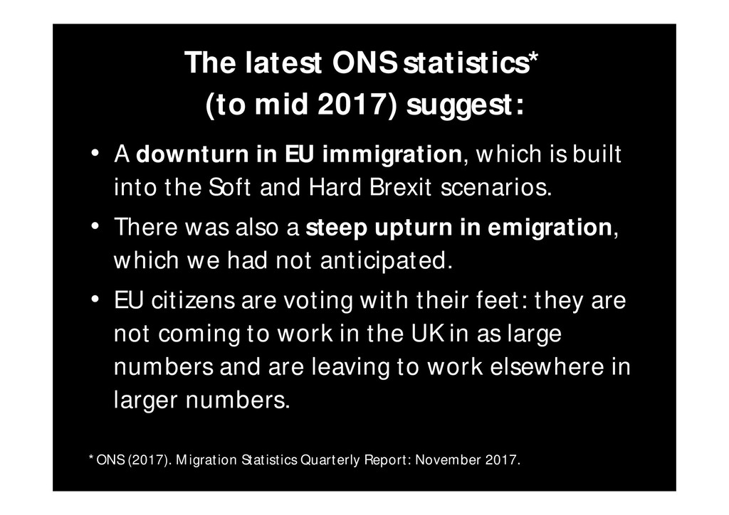 The latest ONS statistics* (to mid 2017) sugges...