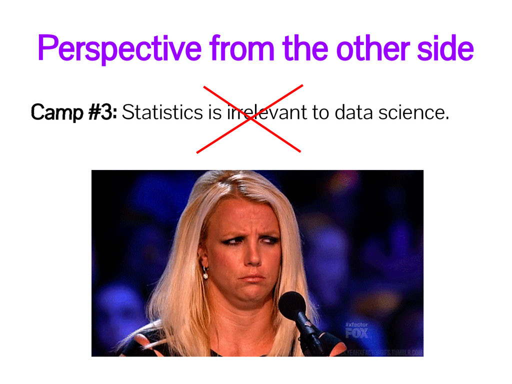 Camp #3: Statistics is irrelevant to data scien...