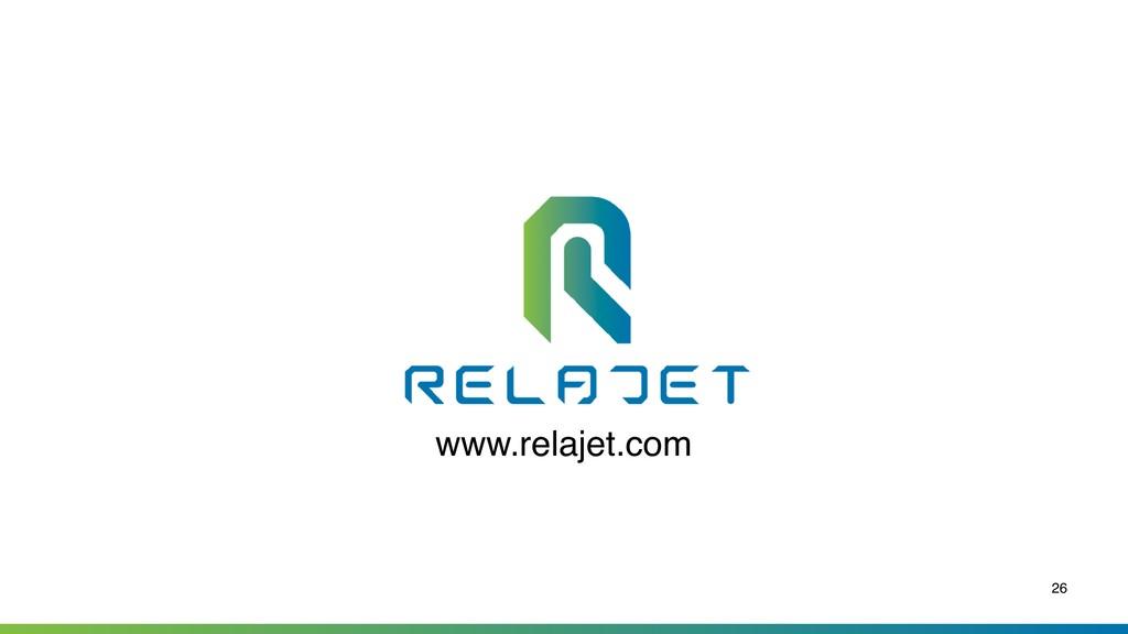 26 www.relajet.com