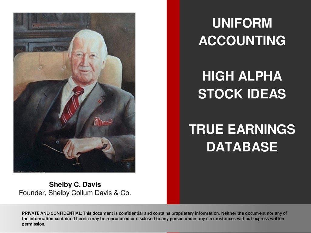 UNIFORM ACCOUNTING HIGH ALPHA STOCK IDEAS TRUE ...