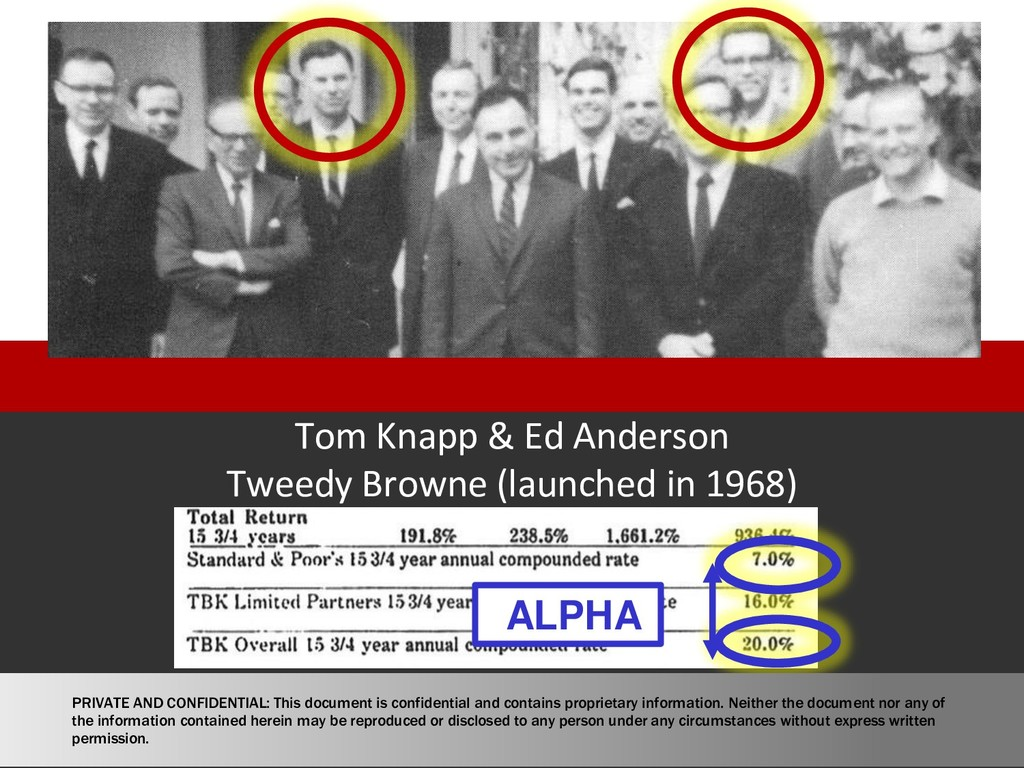 Tom Knapp & Ed Anderson Tweedy Browne (launched...