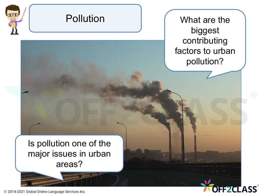 Pollution What are the biggest contributing fac...