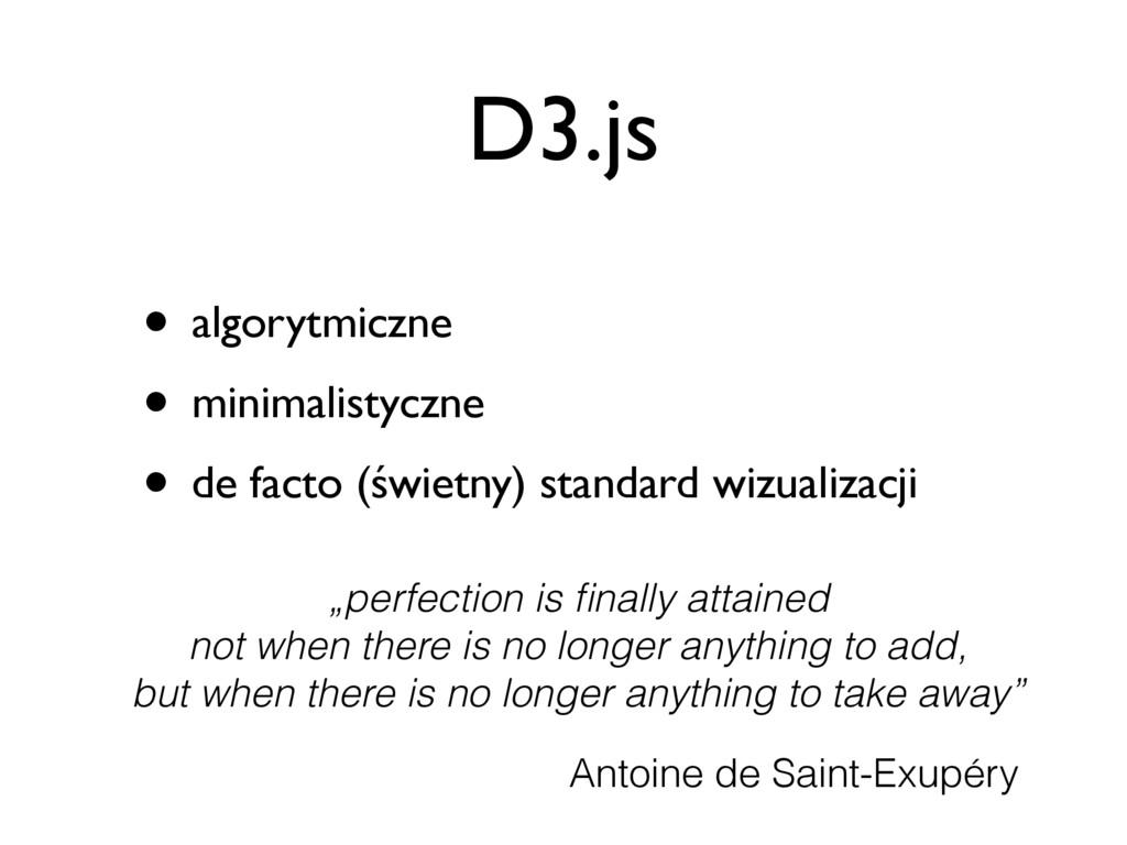 D3.js • algorytmiczne • minimalistyczne • de fa...