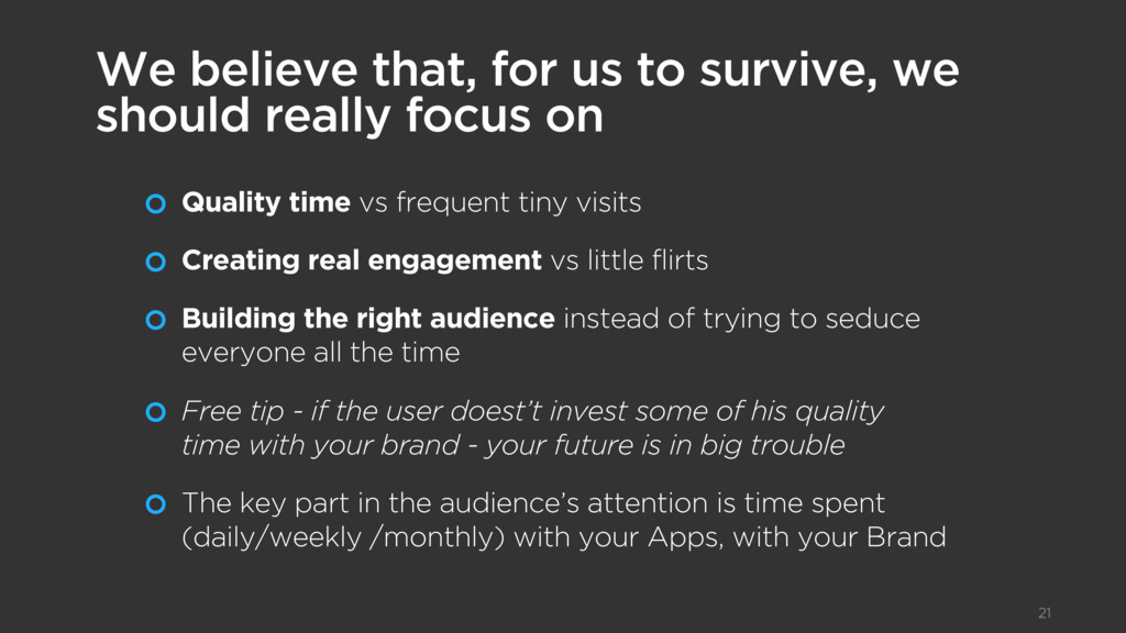 Quality time vs frequent tiny visits Creating r...