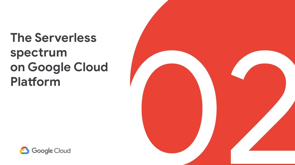 02 The Serverless spectrum on Google Cloud Plat...