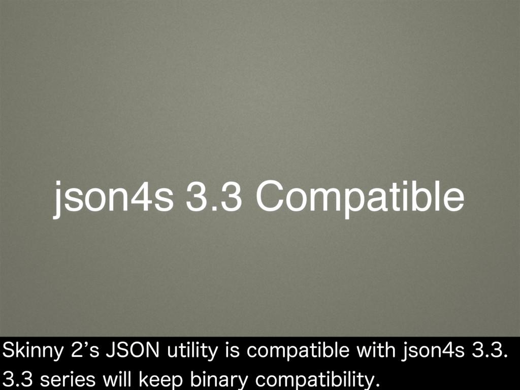 json4s 3.3 Compatible 4LJOOZ`T+40/VUJMJUZJ...