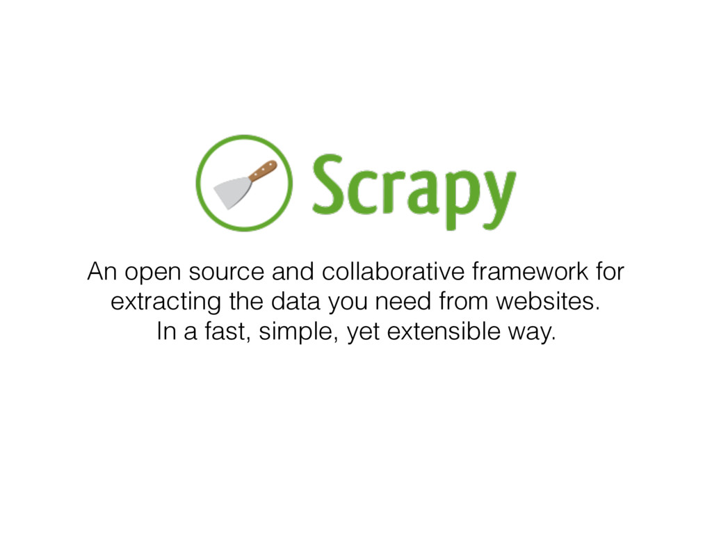 An open source and collaborative framework for ...