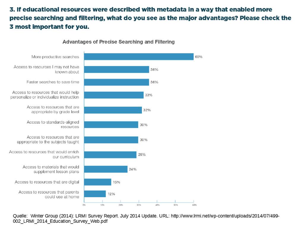 Quelle: Winter Group (2014): LRMI Survey Report...