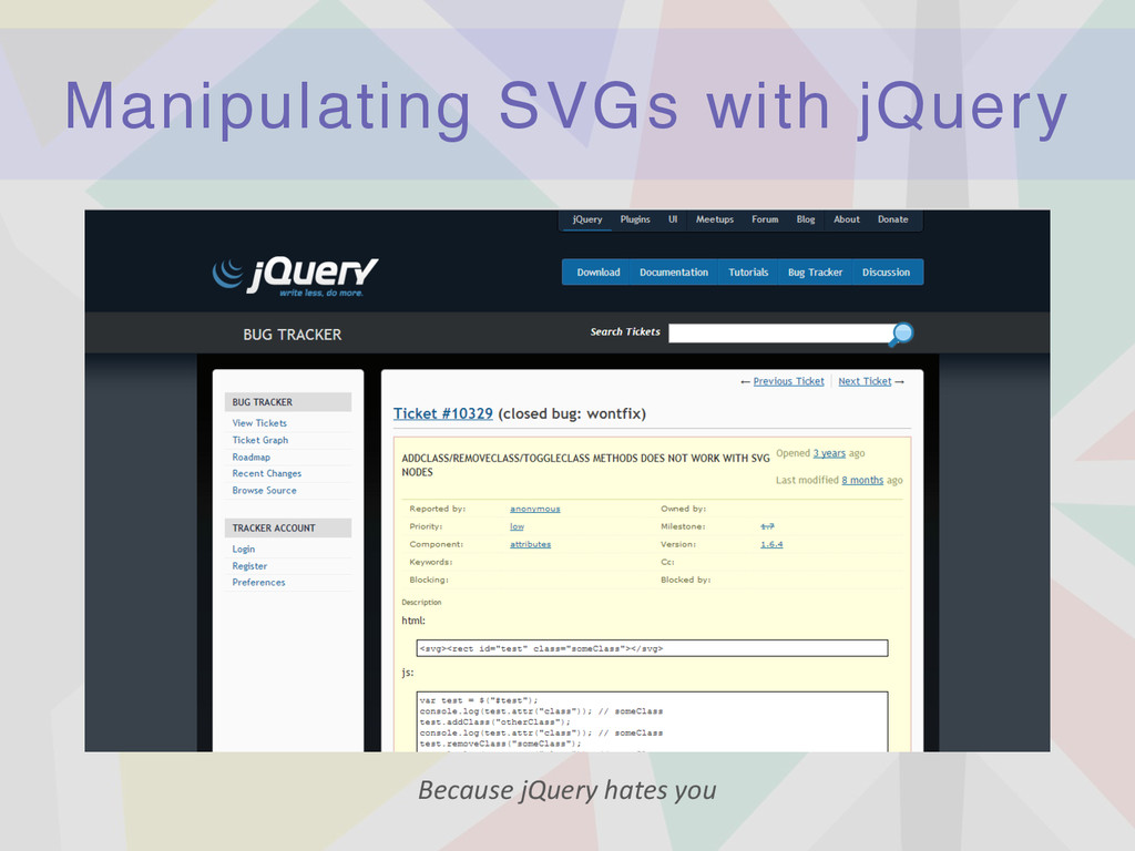 Manipulating SVGs with jQuery Because	