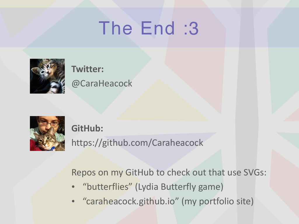 The End :3 Twitter:	