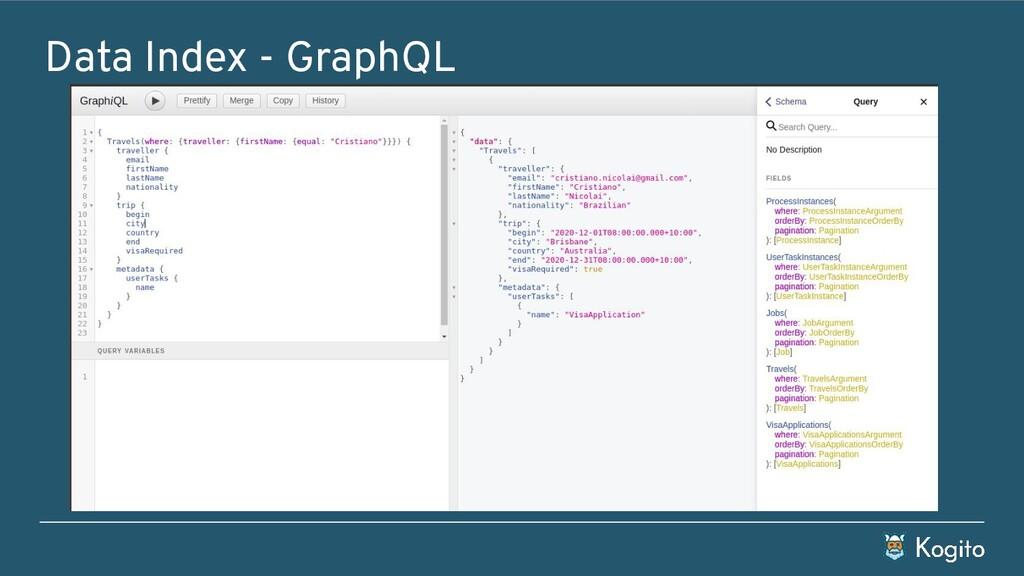 Data Index - GraphQL
