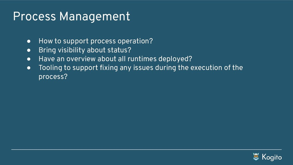 Process Management ● How to support process ope...