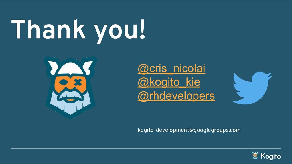 Thank you! @cris_nicolai @kogito_kie @rhdevelop...