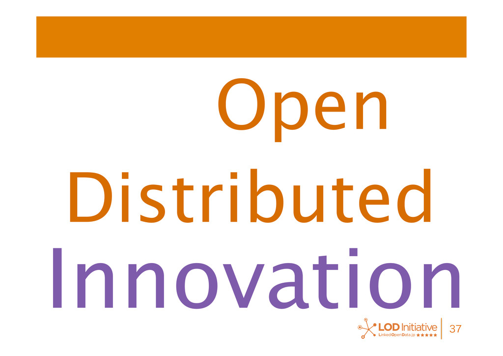 Open  Innovation Distributed