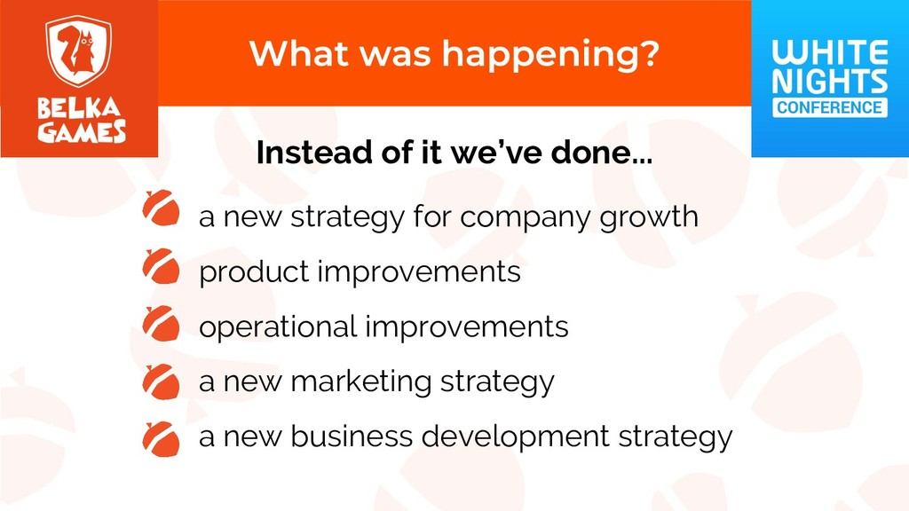 a new strategy for company growth product impro...