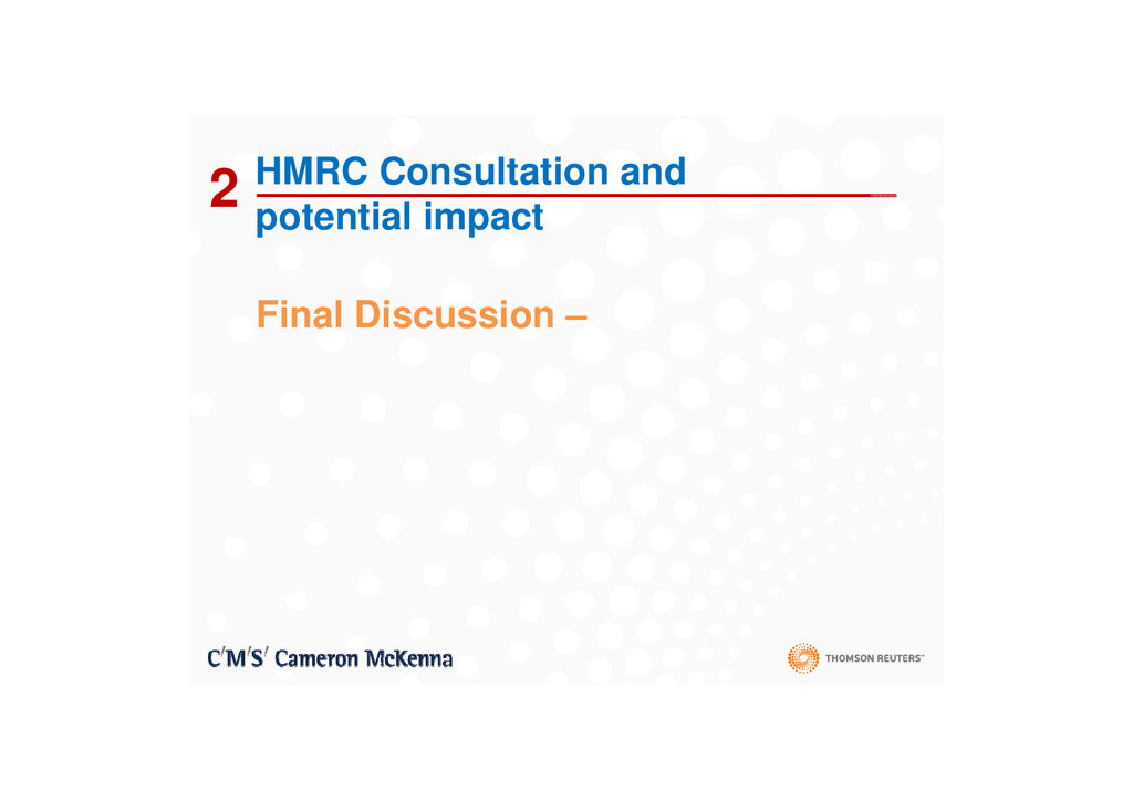 2 HMRC Consultation and potential impact Fi l D...