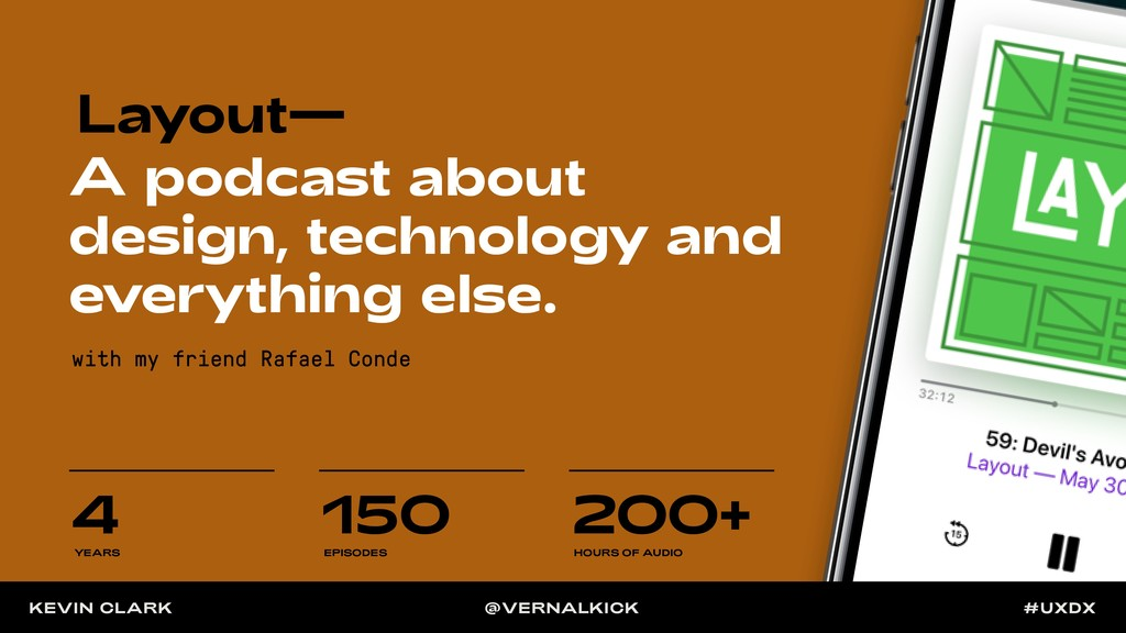 Layout— A podcast about design, technology and ...