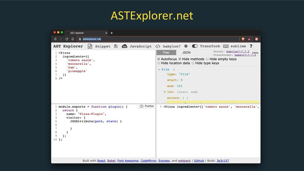 ASTExplorer.net