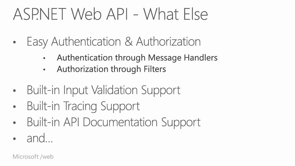 Microsoft /web ®
